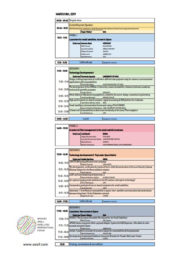 agenda 8 Marzo