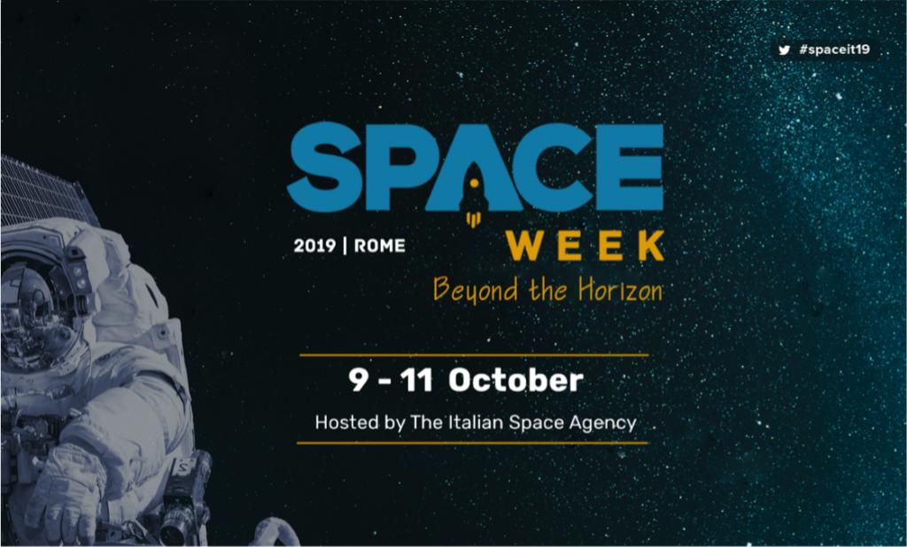 Space week locandina