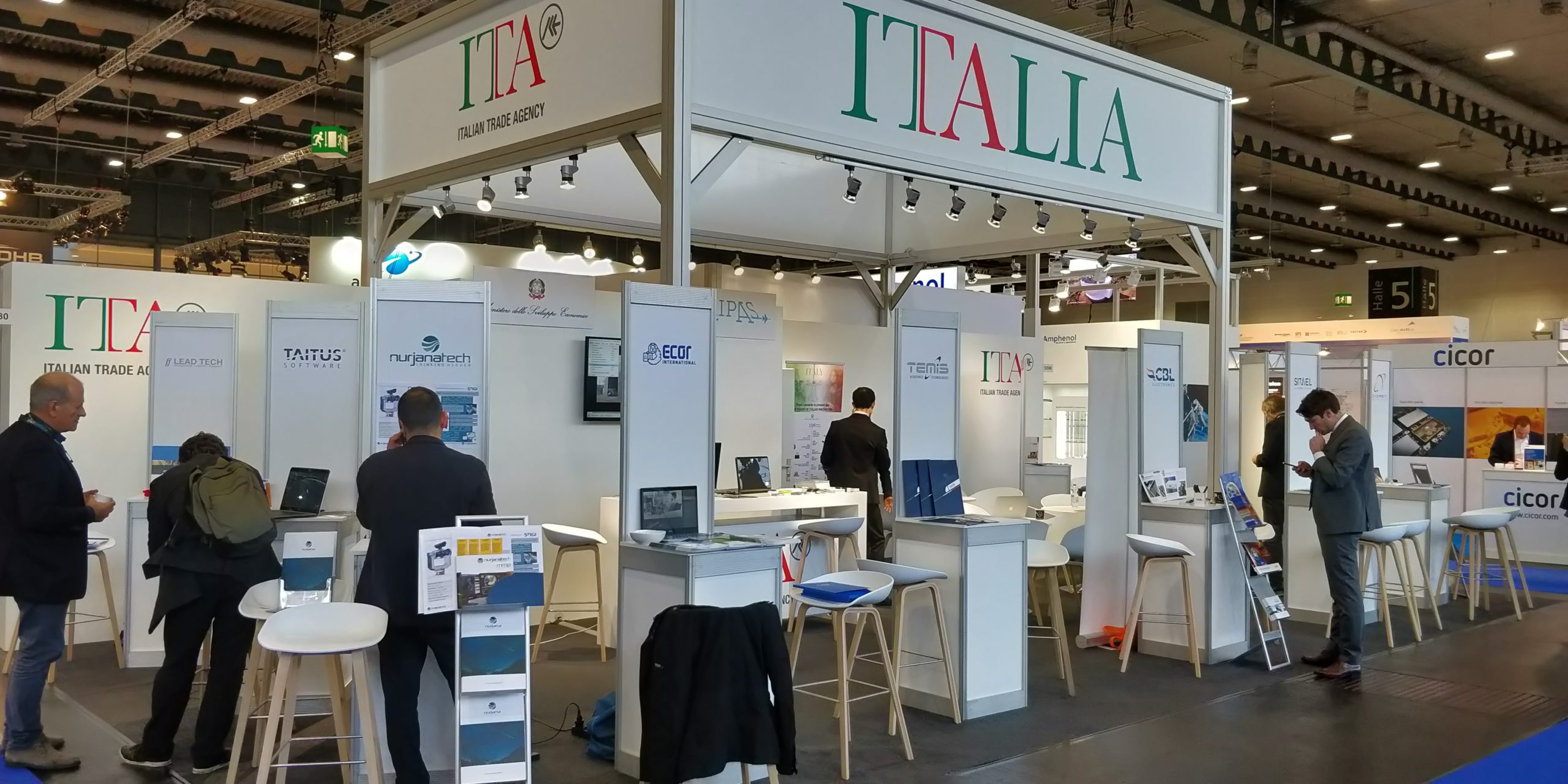 stand at space tech expo europe